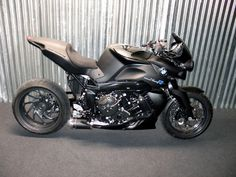BMW K1200r - slightly modified
