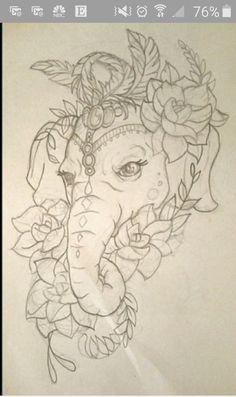Elephant Face #1