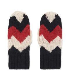 Moncler - Tricolour Miton Glove