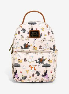 b4e1c84a3623 Loungefly Disney Aristocats Allover Print Mini Backpack - BoxLunch Exclusive  Family Gifts, Friends Family,