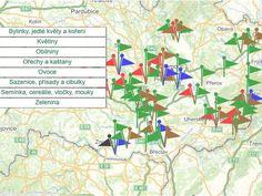 Morava z první ruky: novinářka založila mapu lokálních výrobců Map, Train, Location Map, Maps