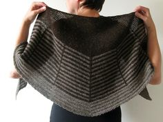 Daybreak Shawl By Stephen West - Purchased Knitted Pattern - (ravelry)