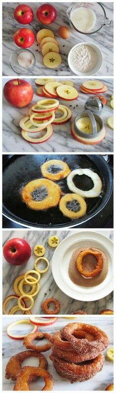 Cinnamon apple rings