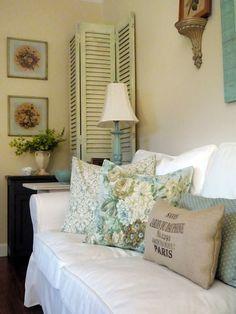 Shabby Chic Sunroom Home Decor Bliss