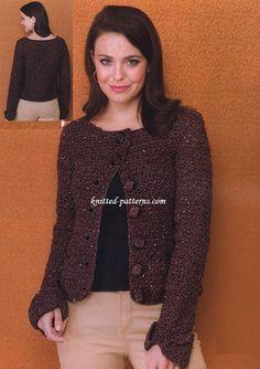 Crochet Penelope Jacket