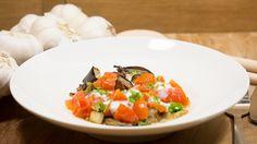 Heerlijk recept met aubergine en ook nog eens zoutarm, lekker voor bij de BBQ!