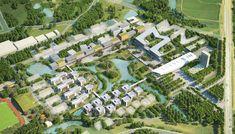 Galería de VHA Architects revela diseño de plan maestro para campus universitario en Vietnam - 4