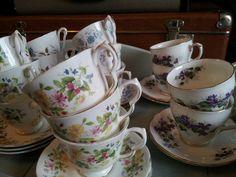 Vintage tea cups from eyecandy vintage