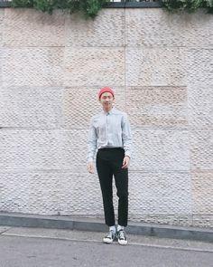 such a self-luminous long-legged monster #kimnamjoon