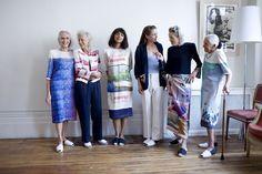 The Old Ladies Rebellion: Designerin Fanny Karst entwirft junge Mode für ältere Damen