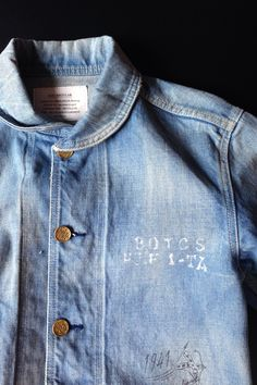 Round Collar Denim Jacket.