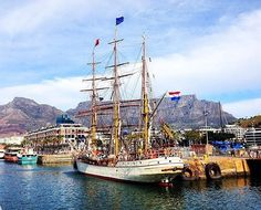 """""""The Europa ready to sail to Antartica"""" _______________________________ is running our weekend takeover, he'll be sharing his beautiful views of the Western Cape and Cape Town with you so sit back relax and share your shots with to be featured! Sit Back And Relax, He's Beautiful, Cape Town, Sailing Ships, Westerns, Boat, Instagram Posts, Shots, Running"""