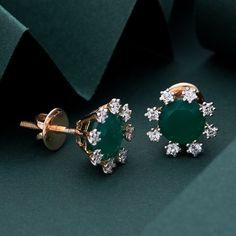 Real Diamond Earring gms) - Real Diamond Jewellery for Women by Jewelegance Real Diamond Earrings, Diamond Jewelry, Stud Earrings, Diamond Studs, Gold Jewellery, Bracelets Design, Jewelry Design, Bracelets For Men, Womens Earrings