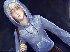 Jack Frost rise of the guardians -- anime ❤