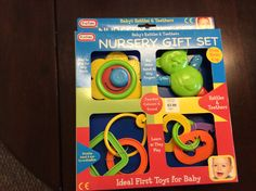Here are some baby toys that'll help your baby develop those hand-eye coordination skills so useful for writing!