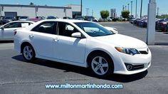 USED 2013 TOYOTA CAMRY 4DR SDN I4 AUTO SE at Milton Martin Honda  #K3380