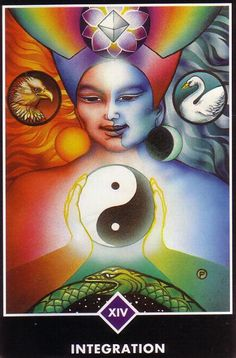 Osho Zen tarot XIV (Temperance) Integration
