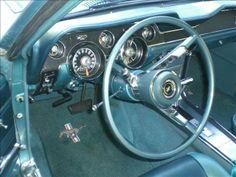 1967 Mustang Fastback Interior