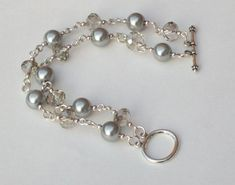 Bead and Chain Bracelet