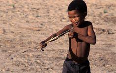 Bushman children arrested
