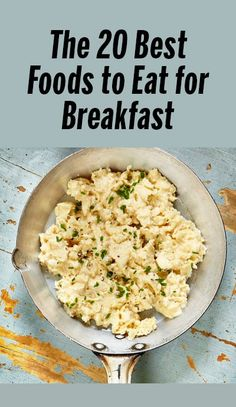 These 20 healthy breakfast staples and mix-ins make provide the energy and nutrients you need to start your morning. High Protein Recipes, Healthy Eating Recipes, Healthy Breakfast Recipes, Brunch Recipes, Real Food Recipes, Cooking Recipes, Breakfast Ideas, Healthy Breakfasts, Yummy Recipes