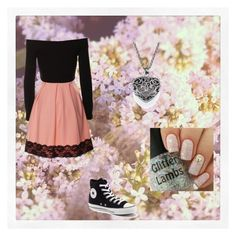"""""""Marie *-*"""" by girl-crazy-284 ❤ liked on Polyvore featuring Converse"""
