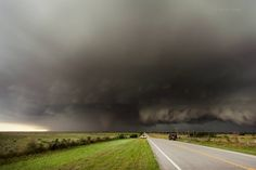 Huge tornado and supercell May 2015