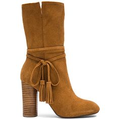 Matiko Miranda Booties (790 RON) ❤ liked on Polyvore featuring shoes, boots, ankle booties, ankle boots, booties, synthetic boots, matiko boots, short boots and high heel boots