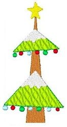 Tree - 4x4 | Winter | Machine Embroidery Designs | SWAKembroidery.com Stitch-Ville