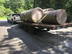 On the road with #rainwaterharvesting tanks