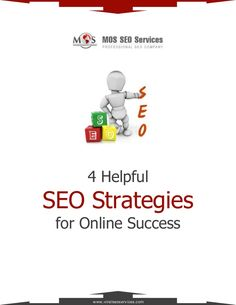 4 Helpful SEO Strategies for Online Success - SEO strategies are crucial to make your website easily visible to your targeted visitors. Listed below are the four helpful #SEOstrategies for online success.