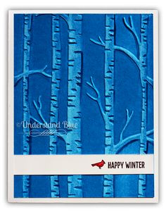 Understand Blue - Stunning card.  Watch the tutorial.  Lots of great hints.