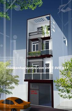 Brick House Designs, Narrow House Designs, House Front Design, Small House Design, Modern House Design, My Home Design, Condo Design, Bungalow House Design, 3 Storey House Design