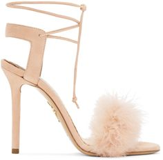 CHARLOTTE OLYMPIA Pink Suede Salsa Sandals. #charlotteolympia #shoes #sandals