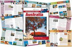 australia amazing facts-loads of info Teaching Kindergarten, Teaching Kids, Australia Continent, Australia For Kids, Little Passports, Early Explorers, Five In A Row, My Father's World, Magic School Bus