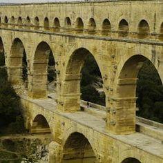 Pont du Gard (Roman Aqueduct) Pont Du Gard, France, North Sea, List, Brooklyn Bridge, Ecuador, Places To See, Egypt, Travel Destinations
