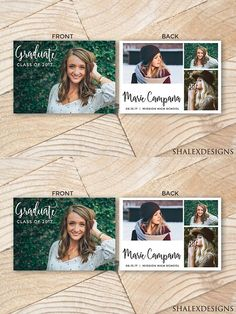 Senior Graduation Card Templates  Luminous  Graduation Cards