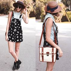 Floral overalls ✿✿