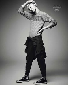 Lucky Blue Smith for Icon Magazine, ph. Art... | male model