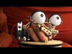 Servo Operated Blinking Mechanism for a Puppet: a littleBits Project by Jeff Bragg