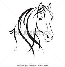 Animal Drawings Horse Head Outline Horses Stickers Car Decals Wall Decal - Quick Overview x Horse Head Drawing, Horse Drawings, Animal Drawings, Art Drawings, Simple Horse Drawing, Horse Silhouette, Silhouette Clip Art, Horse Outline, Horse Stencil