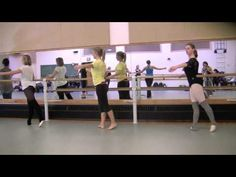Ballet barre workout--intermediate.