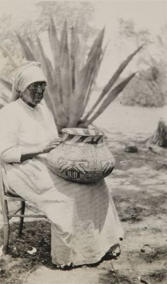 DOLORES WITH BASKET.