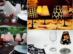 Wine Glass Lampshades Grab Your Template | The WHOot