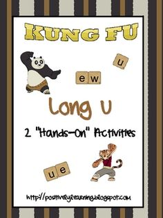 Here's two hands-on activities for practicing long u spellings u_e, ue, and ew!