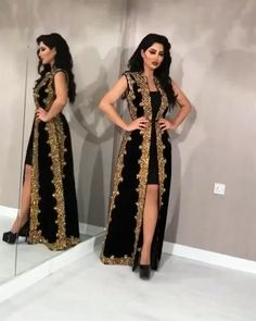 Indian Gowns Dresses, African Fashion Dresses, African Dress, Prom Dresses, Dress Outfits, Stylish Dress Designs, Designs For Dresses, Stylish Dresses, Moroccan Dress