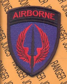 US Army Special Operations Aviation Command Airborne Soac Shoulder Patch M E | eBay