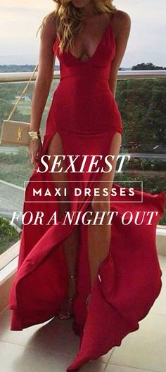 Sexiest Maxi Dresses For A Night Out