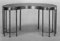 Dressing Table  John H. Hopkins  (American)  Date: ca. 1929 Medium: Pewter and wood