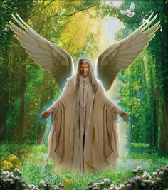"""Archangel Azrael, the angel of transformation and an angel of death in Islam, means """"helper of God."""" Azrael helps living people navigate changes in their liv. Archangel Azrael, Archangel Michael, Revelation Bible, Muslim Religion, The Departed, Your Guardian Angel, Human Soul, Angels In Heaven, Angel Of Death"""
